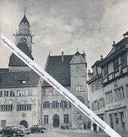 Überlingen - Rathaus - um 1955 - selten!