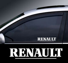2 X Renault Window Decal Sticker Gráfico * Color Elección *