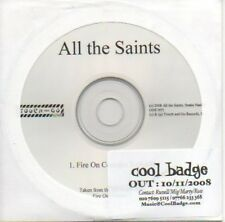 (674C) All The Saints, Fire On Corridor X - DJ CD