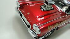 1 Chevy Corvette Vette 1960s Car 18 Hot Rod Dragster Race Drag Carousel Red 12