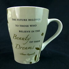 Beauty Of Their Dreams Mug Coffee Cup The Future Belongs To Those Who Believe In