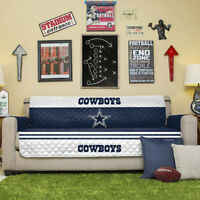 NFL Dallas Cowboys Sofa Reversible Furniture Protector  75-inches by 110-inches