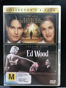 FINDING NEVERLAND / ED WOOD DVD 2 DISC COLLECTOR'S EDITION Region 4