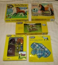 HUGE BREYER HORSE LOT - Spirit, Painting Gift Set, Metal Fence, Blanket/Tack+ #1