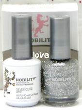 Lechat Nobility Led / UV Gelcolor & Gratis Uñas Pulir Set NBCS068- Plata Glitz