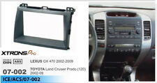 Car Radio Facia Dash Trim for TOYOTA LandCruiser Prado GX GXL GRANDE GRJ120R 120