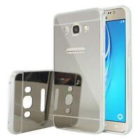 Coque Pare-chocs Aluminium Métal 2 en 1 Samsung Galaxy J5 (2016) J510FN - SILVER