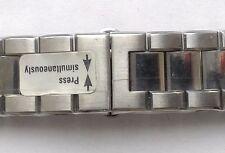 New Zenith stainless steel bracelet 20mm width.