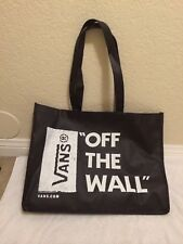 Vans Off The Wall Surf Graphics Tote Bag.