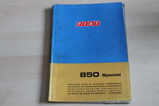 SV0338) Fiat 850 Special - Karosserie Ersatzteilkatalog 02/1968