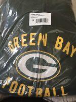 NEW NFL Green Bay Packers Majestic Women's Hyper Fandom Full Zip Hoodie Size 1X