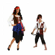 Robust Caribbean Pirate Fancy Dress Buccaneer Costume Outfit Men/Women/Kids