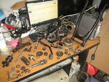 1982 Honda MB5 Crankcases Swingarm Flywheel Stator Layshaft Main Shaft Parts Lot