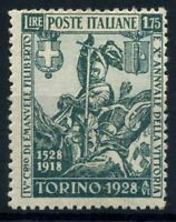 Italia Regno 1928 Sass. 236 Nuovo * 100% Emanuele Filiberto