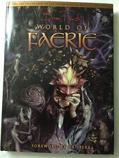Brian Froud's World of Faerie Color Hardcover Book 2007 DARK CRYSTAL ARTIST