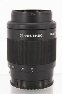 SONY 55-200mm f/4-5.6 DT    A-mount      Professionally tested