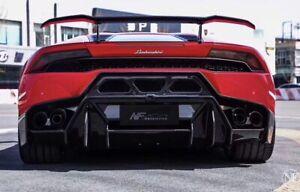 Lamborghini Huracan Lp610 LP580 Unpainted FRP Rear Bumper Diffuser