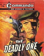 Commando For Action & Adventure Comic Book Magazine #1523 DEADLY ONE