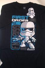 Funko Pop! Star Wars First Order Stormtrooper T Shirt   Size L