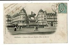 CPA-Carte Postale -France -Orléans- Place du Martroi en 1902? VM6942