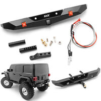 KYX Metal Rear Bumper Accessories for 1/10 Axial SCX10 III AX103007 Crawler