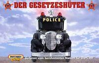 Matchbox Der Gesetzeshüter Prospekt Modellautos Polizeifahrzeuge police cars