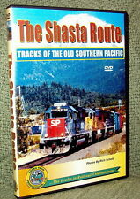 """20067 TRAIN VIDEO DVD """"THE SHASTA ROUTE"""" TRACKS OF OLD SP"""