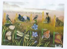 D146449(1) Belgium Imperforate S/S MNH Flowers Birds Animals Butterflies