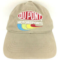 Vtg Jeff Gordon Hat Du Pont Motorsports Cap Logo Nascar Racing Baseball Trucker