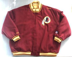 Mitchell & Ness Washington Redskins '07 Reversable Wool Coat Jacket NFL
