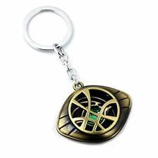 Marvel-Inspired Doctor Strange Necklace -Eye of Agamotto Alloy Key Chain Pendant