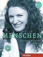Hueber MENSCHEN B1.2 Deutsch als Fremdsprache ARBEITSBUCH mit AUDIO CD @New@