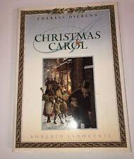 Christmas Carol Charles Dickens HC DJ Roberto Innocenti 1990