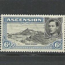 George VI (1936-1952) Postage Ascension Island Stamps