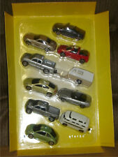 MAISTO - 10 PIECE VEHICLE SET - S TRAIN CAMPER CHAMPER PICKUP NIP NOS
