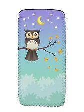 OWL Soft Neoprene Glasses Phone Case Pouch Sleeve Fun Novelty Birthday Gift Idea