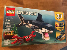 LEGO Creator Deep Sea Creatures Shark Crab 230 Pieces. Free Shipping 6250778