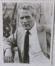 Paul Newman signed photo