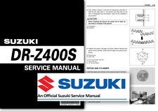 Suzuki DR-Z400S Workshop Service Shop Manual DR Z 400 S DRZ400 DRZ400S SM