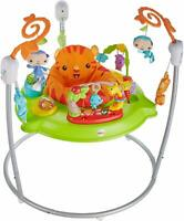 Fisher-Price Rainforest Jumperoo New Born Baby Activity Centre Music Lights