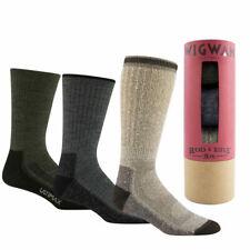 NEW Wigwam Rod and Rifle Socks 3 Pack Gift Set MERINO Wool Hiking Hunting 3pk LG