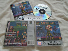 Medievil 2 PS1 (COMPLETE) gothic horror Sony PlayStation platinum rare