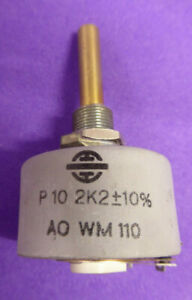 Draht Potentiometer P10 - 2,2 kOhm 10 W (selten als neu)