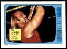 1985 Topps Hulk Hogan WWF Wwe #60