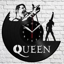 Freddie Mercury Vinyl Record Wall Clock Fan Art Home Decor Original Gift 3912