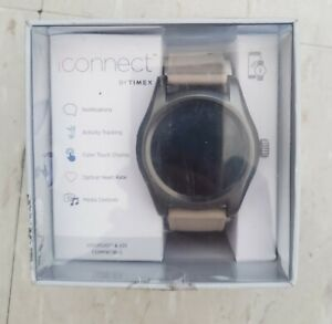 iConnect By Timex Classic Round Touchscreen Smartwatch # TW5M31700