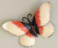 Vintage large  Butterfly Brooch enamel on Metal