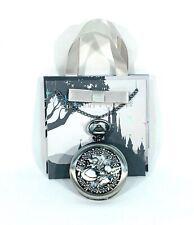 Disney Parks Kingdoms+Castles Alice In Wonderland Pocket Watch Necklace  New