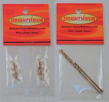Hotwheels Rivets - 20 Replacement Rivet Heads & Bits For Custom & Restorations
