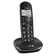 Doro PhoneEasy 110 schwarz Seniorentelefon Festnetztelefon Schnurlostelefon